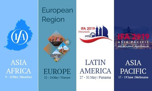 Join us at the IFA Regional meetings 2019